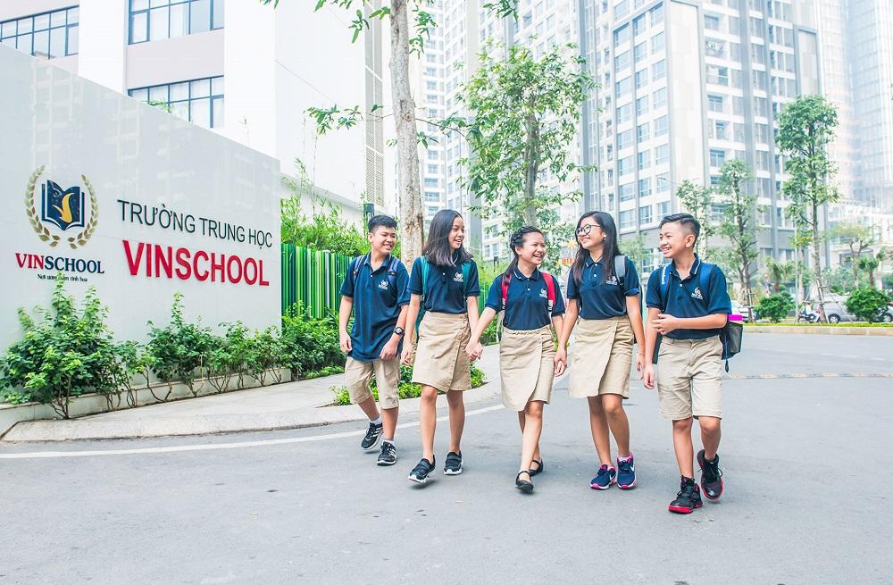 Trường học liên cấp Vinschool nằm trong khuôn viên của dự án Vinhomes Grand Park