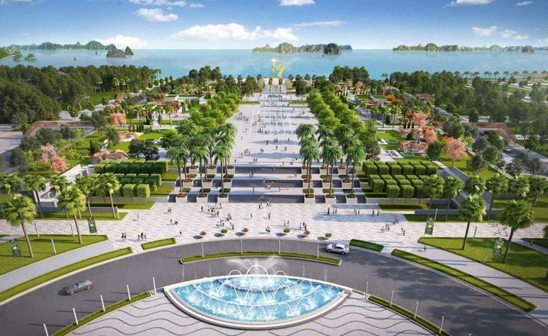Khu sông đơ và quảng trường biển Sun Sầm Sơn