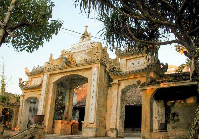 Đền độc cước - ngôi đền linh thiêng tại Sầm Sơn