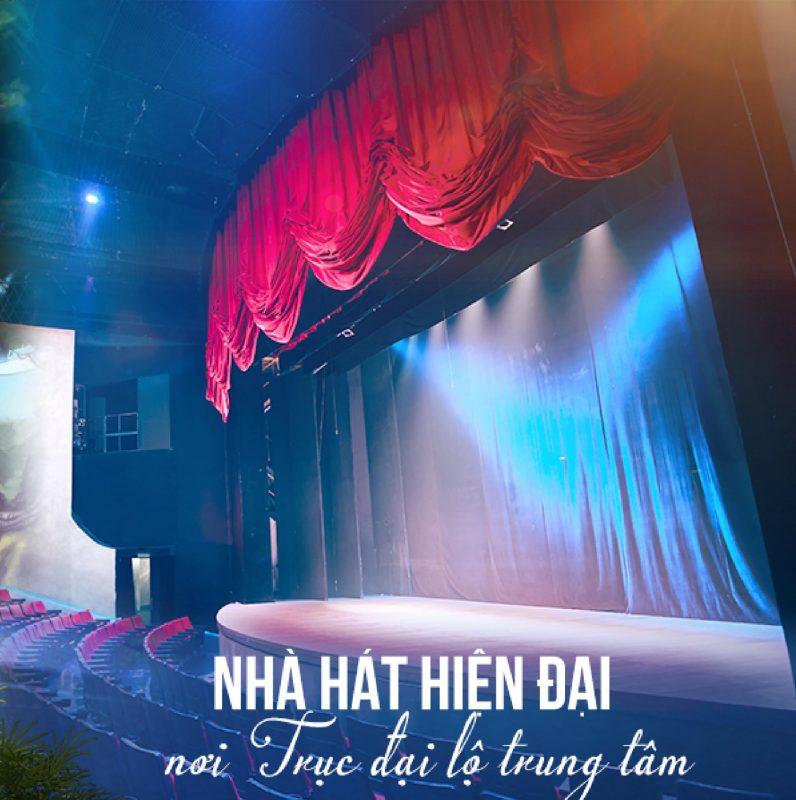 Nhà hát hiện đại - Nơi diễn ra các lễ hội âm nhạc 4 mùa