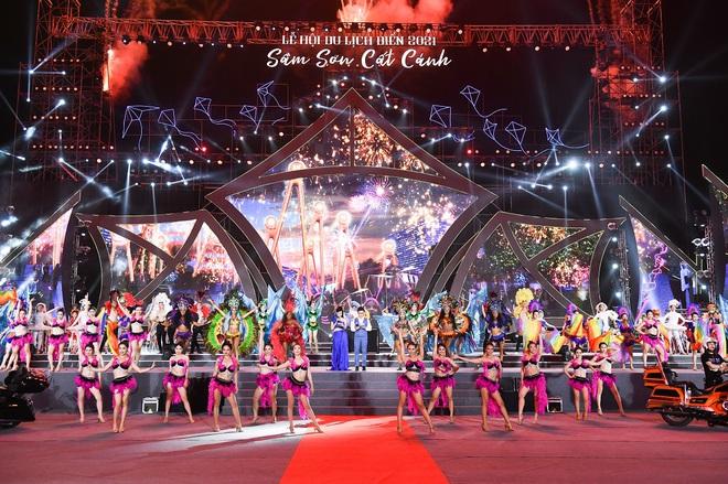 Khu vực tương lai sẽ là Quảng trường biển trung tâm Sầm Sơn, nơi diễn ra hàng loạt sự kiện, lễ hội quy mô lớn.