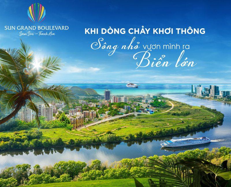 """Có một """"ốc đảo"""" sinh thái ven sông Đơ đầy thơ mộng sắp xuất hiện tại Sầm Sơn"""