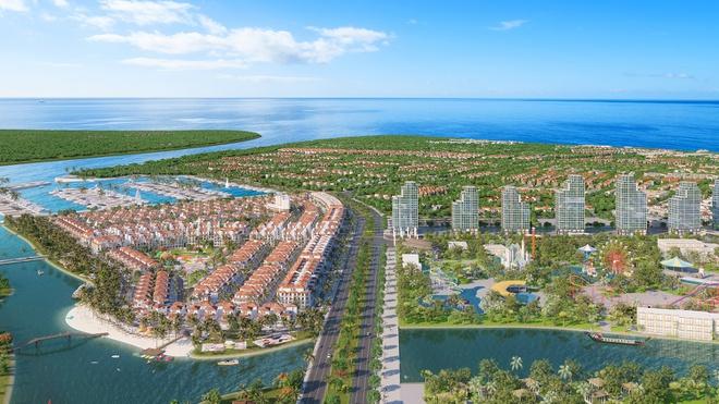 """Công viên Sun World là """"mảnh ghép"""" quan trọng trong siêu dự án tỷ USD của Sun Group tại Sầm Sơn. Ảnh phối cảnh."""