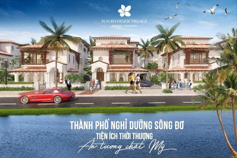 Thành phố nghỉ dưỡng ven sông Đơ tại Sầm Sơn