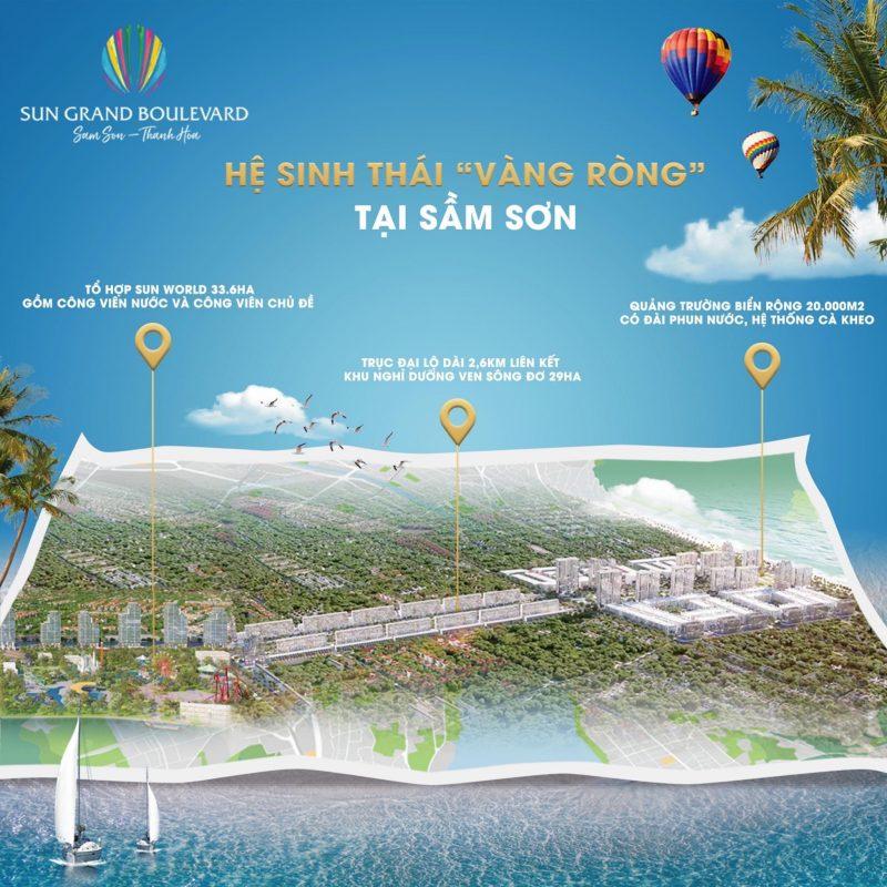 Những con số ấn tượng của tập đoàn Sun Group tại xứ Thanh