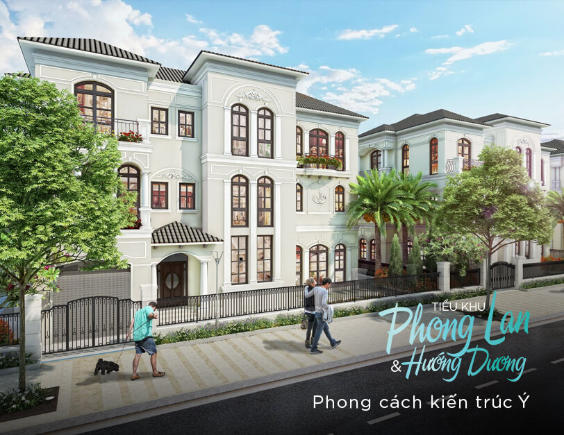 Phân khu PL và HD dự án Vinhomes Thanh Hóa