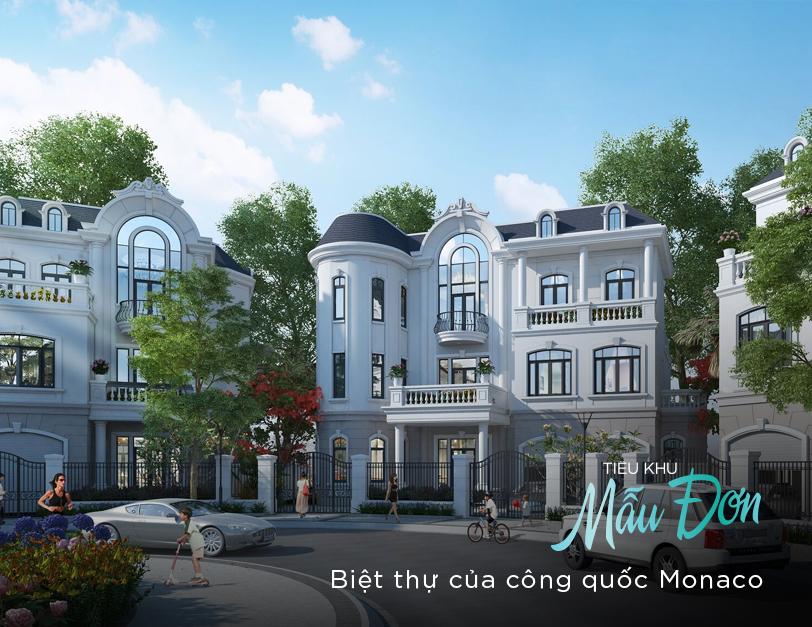 Phân khu mẫu đơn dự án Vinhomes Thanh Hóa