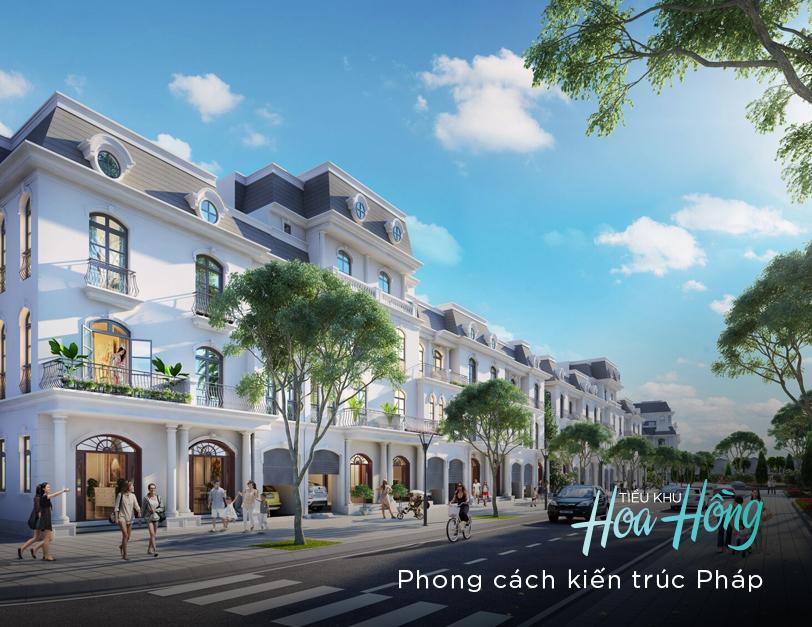 Phân khu hoa hồng dự án Vinhomes Thanh Hóa