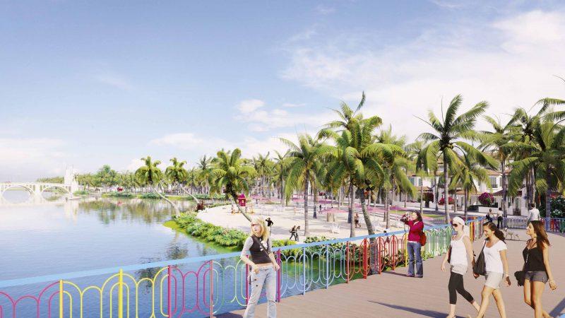Bãi cát nhân tạo hứa hẹn sẽ là điểm du lịch hấp dẫn