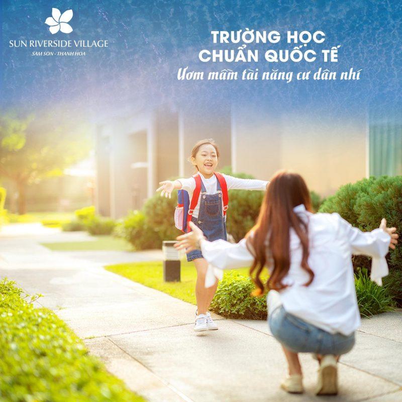 Trường học chuẩn quốc tế cho một tương lai tươi sáng cho cư dân nhí