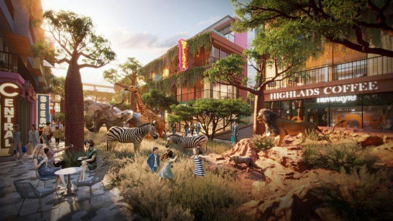 Vườn thú digital sẽ là điểm nhấn đặc biệt, thu hút khách đến dự án sắp ra mắt của Flamingo tại Hải Tiến (Ảnh: Tập đoàn Flamingo)